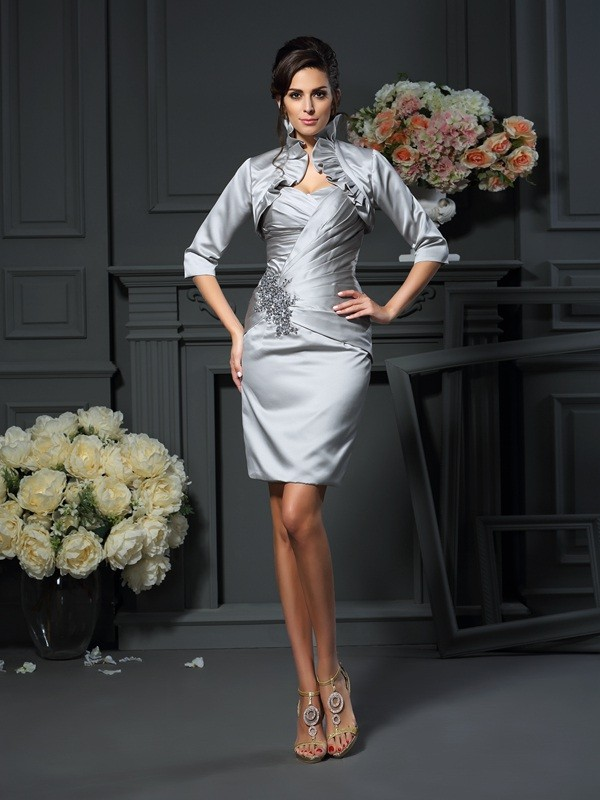 Satin Half Sleeves Special Occasion Wrap