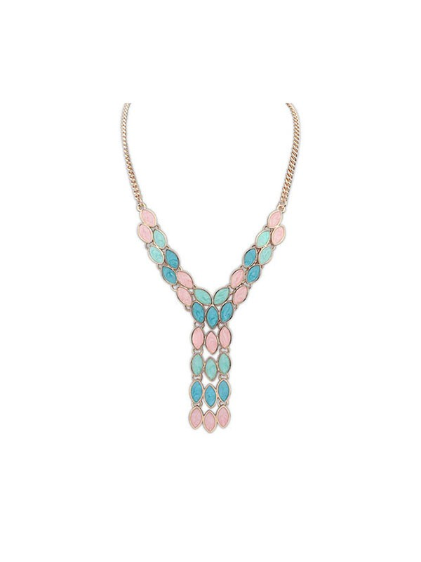 Occident Bohemia Tassels Hot Sale Necklace