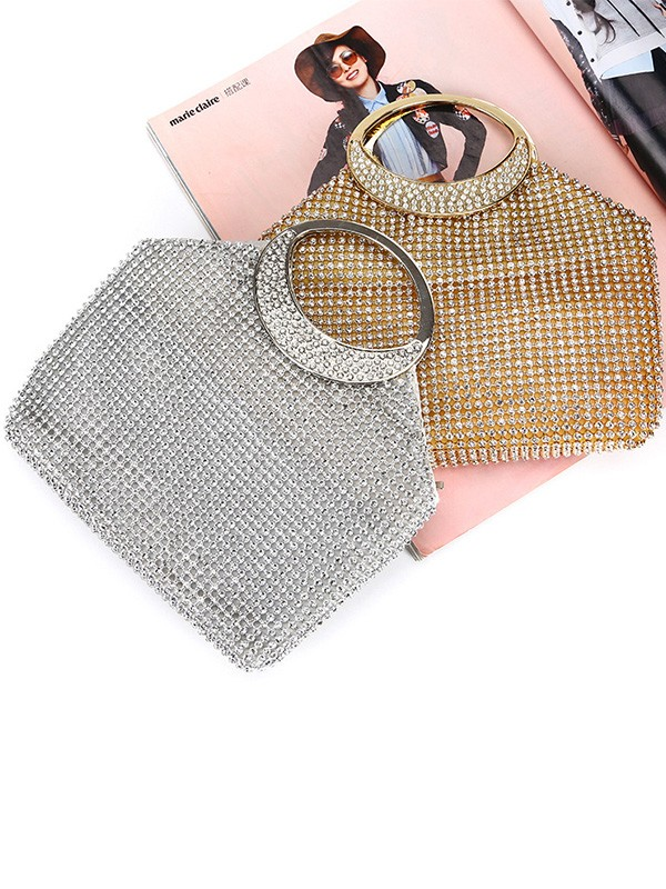 Luxurious Rhinestone Evening/Party Handbags For Women