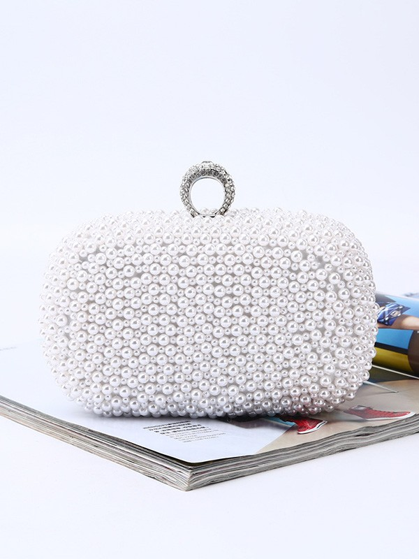 Trending Pearl Evening/Party Handbags For Women