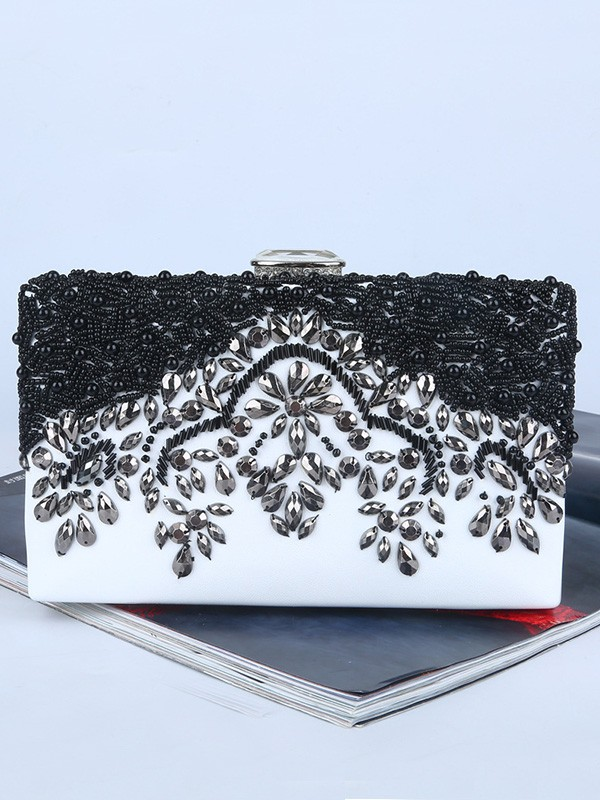 Graceful Rhinestone Evening/Party Handbags For Women