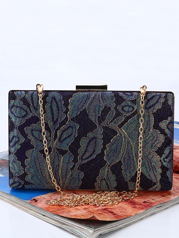 Vintage Silk Evening/Party Handbags For Women