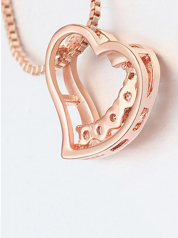Gorgeous Copper With Zircon Hot Sale Necklaces