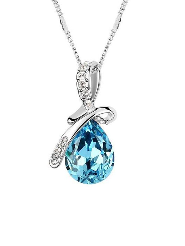 Graceful Alloy With Crystal Hot Sale Necklaces