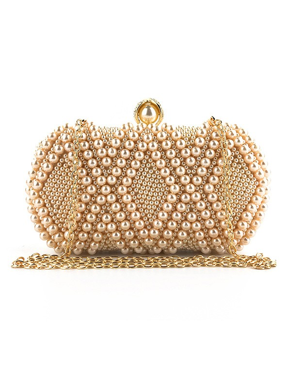 Graceful Pearl Evening/Party Handbags For Women