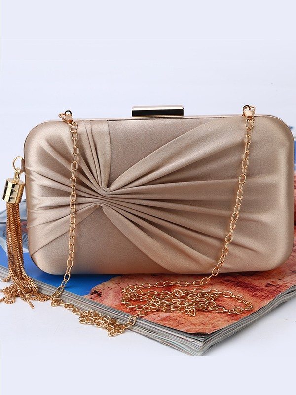 Trending Ruched Evening/Party Handbags For Women