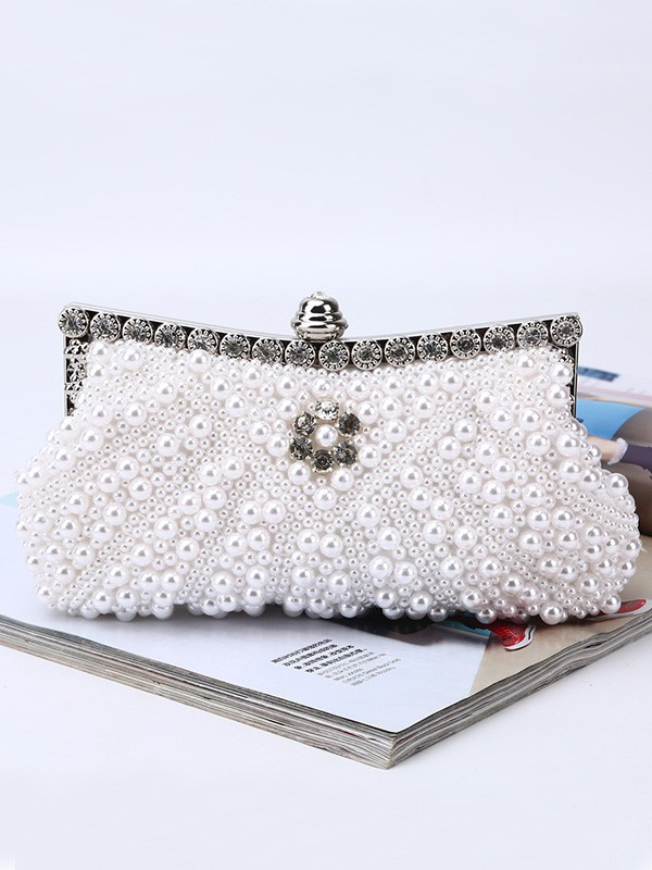 Fashion Pearl Evening/Party Handbags For Women