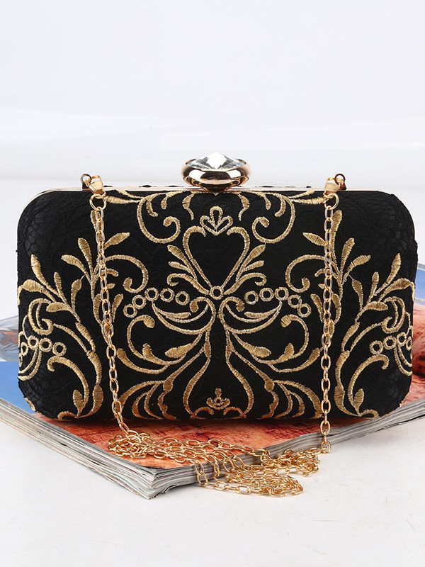 Charming Satin Evening/Party Handbags For Women