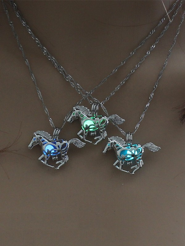 Unique Alloy With Horse Hot Sale Necklaces