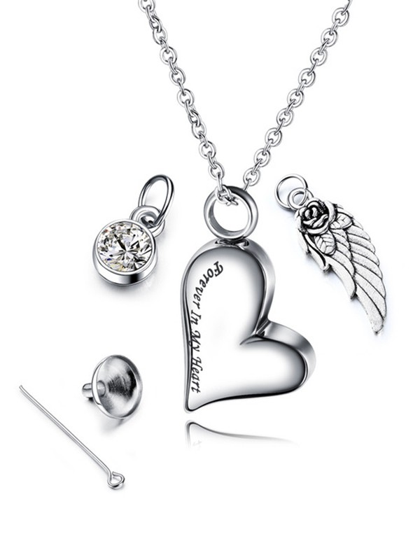 Fancy Titanium With Love Hot Sale Necklaces