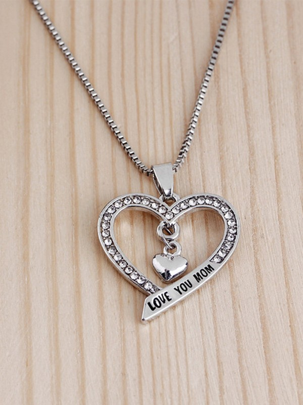 Fashion Alloy With Rhinestone Hot Sale Necklaces