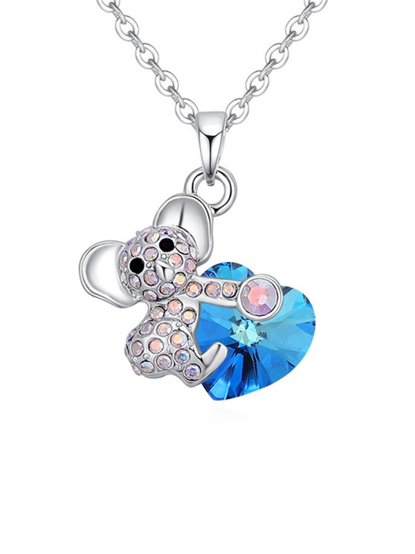 Gorgeous Alloy With Crystal Necklaces