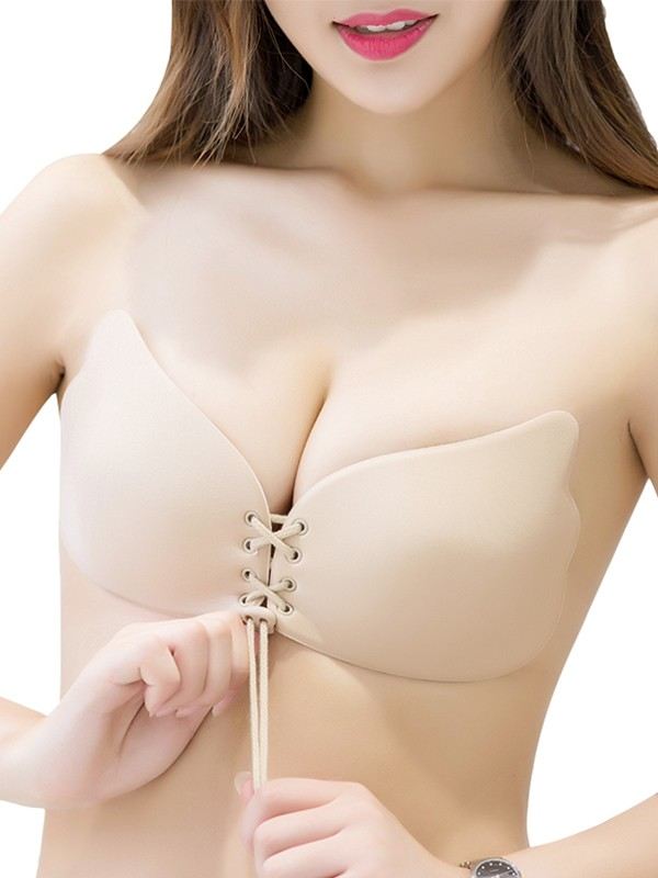 Silicone 3/4 Cup Strapless Invisible Bra